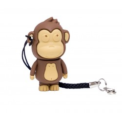 Makako mono brown 16 Gb - memoria usb pendrive