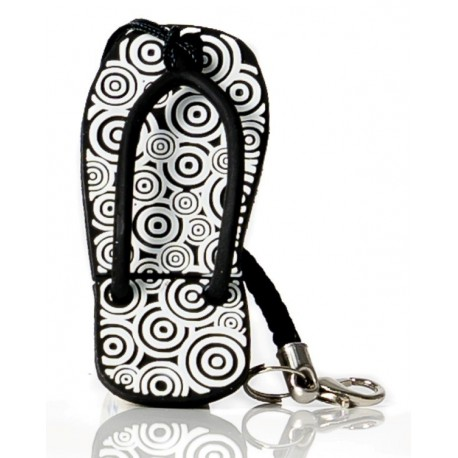 Tribal blue flip-flop Usb flash pendrive 16 gb